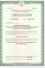 Лицензия ВИП-МЕД Пушкино1
